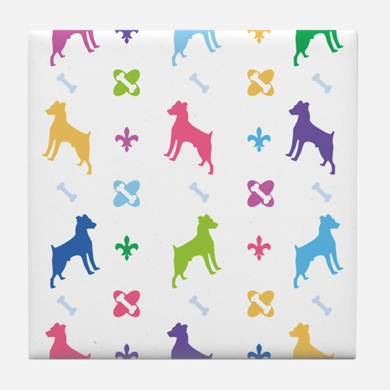 Jack Russell Terrier Designer Tile Coaster