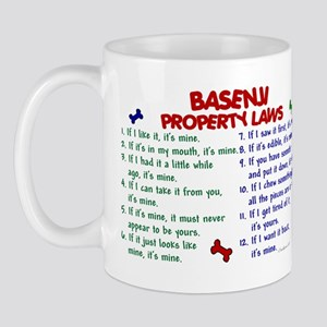 Basenji Property Laws 2 Mug