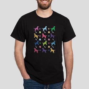 Labrador Retriever Designer Dark T-Shirt