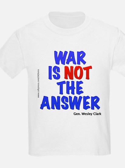 """""""War No Answer"""" T-Shirt"""