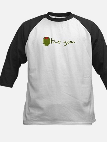 Olive you Kids Baseball Jersey