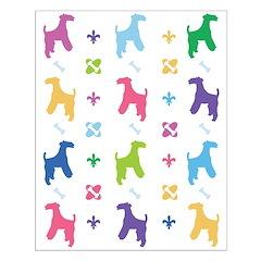 Lakeland Terrier Designer Posters