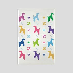 Lakeland Terrier Designer Rectangle Magnet
