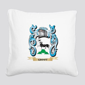 Groot Coat of Arms - Family C Square Canvas Pillow