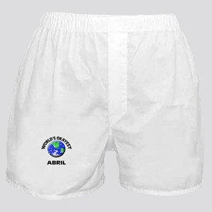 World's Okayest Abril Boxer Shorts