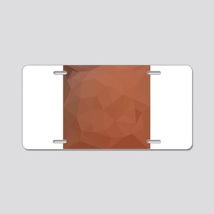 Burnt Orange Abstract Low Polygon Background Alumi