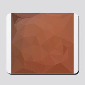 Burnt Orange Abstract Low Polygon Background Mouse