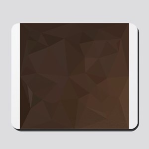 Dark Puce Brown Abstract Low Polygon Background Mo