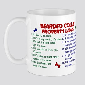 Bearded Collie Property Laws 2 Mug