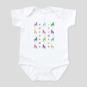 Minature Pinscher Designer Infant Bodysuit