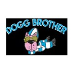 Dogg Brother 35x21 Wall Decal