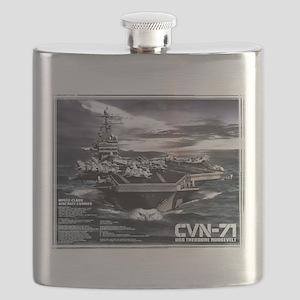 Aircraft carrier Theodore Roosevelt Flask