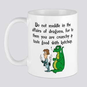The Affairs of Dragons Mug