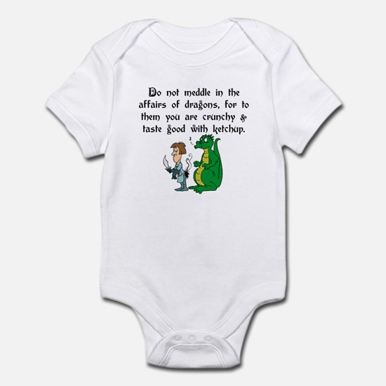 The Affairs of Dragons Infant Bodysuit