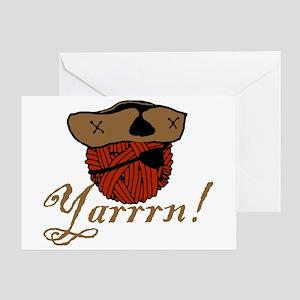 Yarrrn Greeting Card