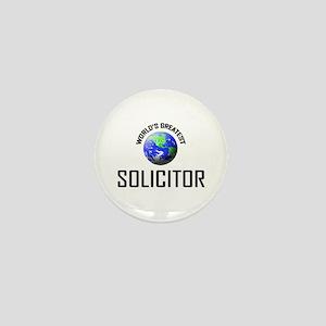 World's Greatest SOLICITOR Mini Button