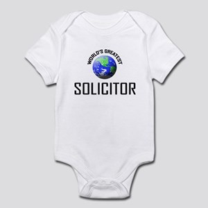 World's Greatest SOLICITOR Infant Bodysuit