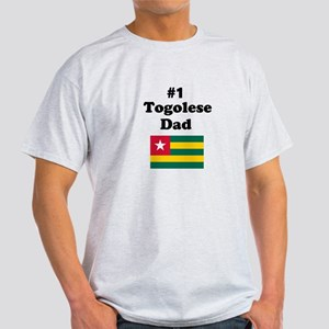 #1 Togolese Dad Light T-Shirt