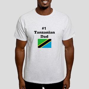 #1 Tanzanian Dad Light T-Shirt