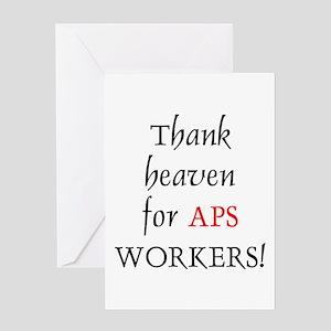 Thank Heaven APS BRT Greeting Card