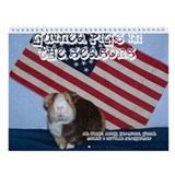 Guinea pig Wall Calendars