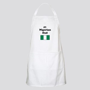 #1 Nigerian Dad BBQ Apron