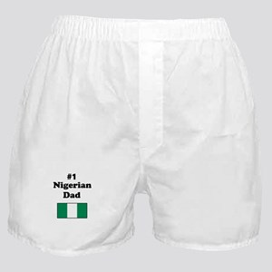 #1 Nigerian Dad Boxer Shorts