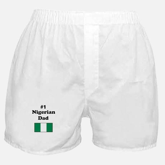 #1 Nigerian Dad Boxer Shorts