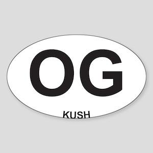 OG Oval Sticker