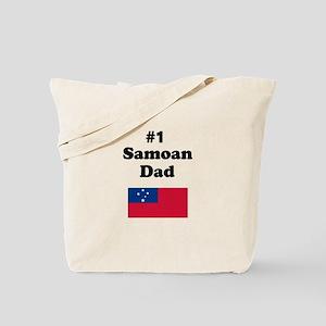 #1 Samoan Dad Tote Bag