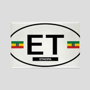 Ethiopia 2F Rectangle Magnet