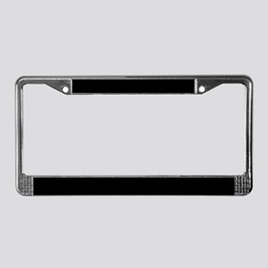 Wild Cat Zoo License Plate Frame