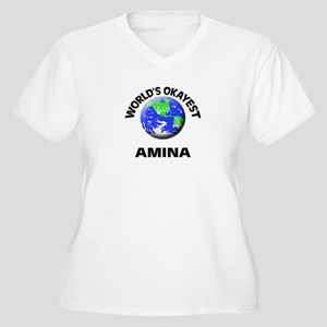 World's Okayest Amina Plus Size T-Shirt