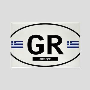 Greece 2F Rectangle Magnet