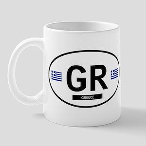 Greece 2F Mug
