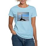 RAINBOW WHALES Women's Light T-Shirt