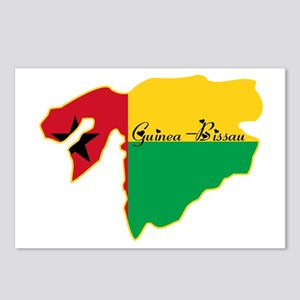 Cool Guinea-Bissau Postcards (Package of 8)