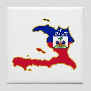 Cool Haiti Tile Coaster