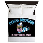 Dogg Brother Queen Duvet