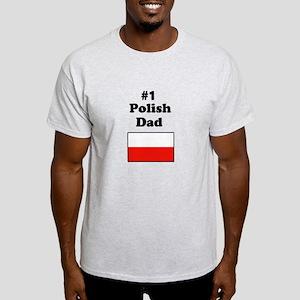 #1 Polish Dad Light T-Shirt