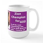 Zion's Hi-Five Large Mug