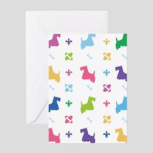 Scottie Designer Greeting Card