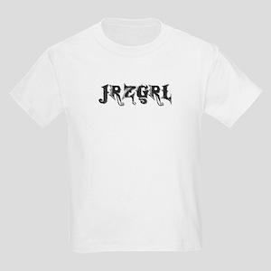 JRZGRL (Jersey Girl) Kids Light T-Shirt