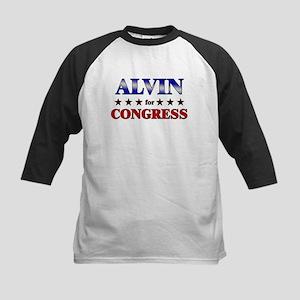 ALVIN for congress Kids Baseball Jersey