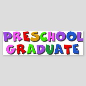 Preschool graduate Bumper Sticker