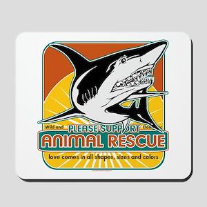 Animal Rescue Shark Mousepad