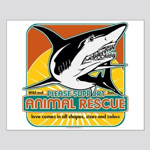Animal Rescue Shark Small Poster