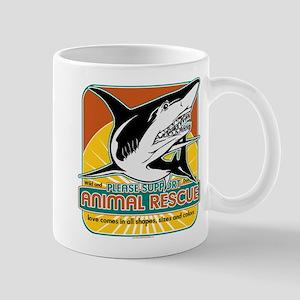 Animal Rescue Shark Mug