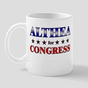 ALTHEA for congress Mug