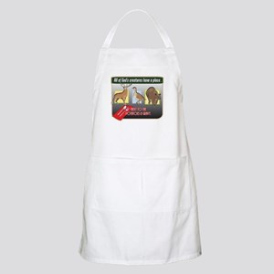 All of God's Creatures BBQ Apron
